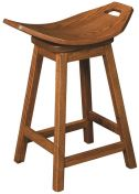 Newall Swivel Saddle Stool