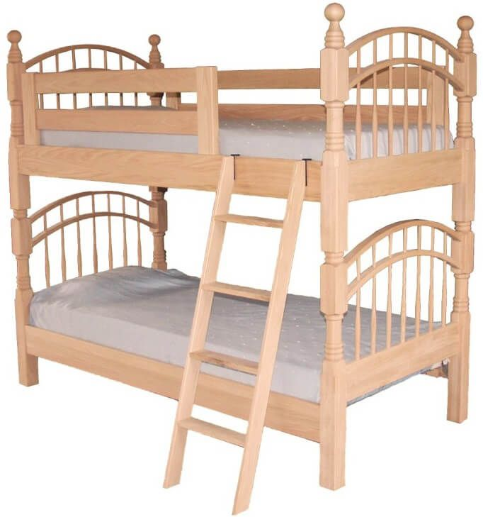 Olivia Double Bow Bunk Bed