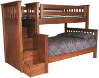 Reyes Bunk Bed with Stairs