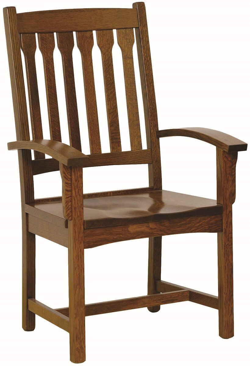 Acapulco Mission Dining Arm Chair