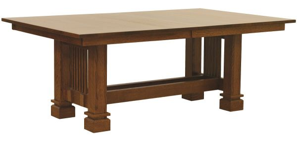 Acapulco Mission Dining Table Countryside Amish Furniture