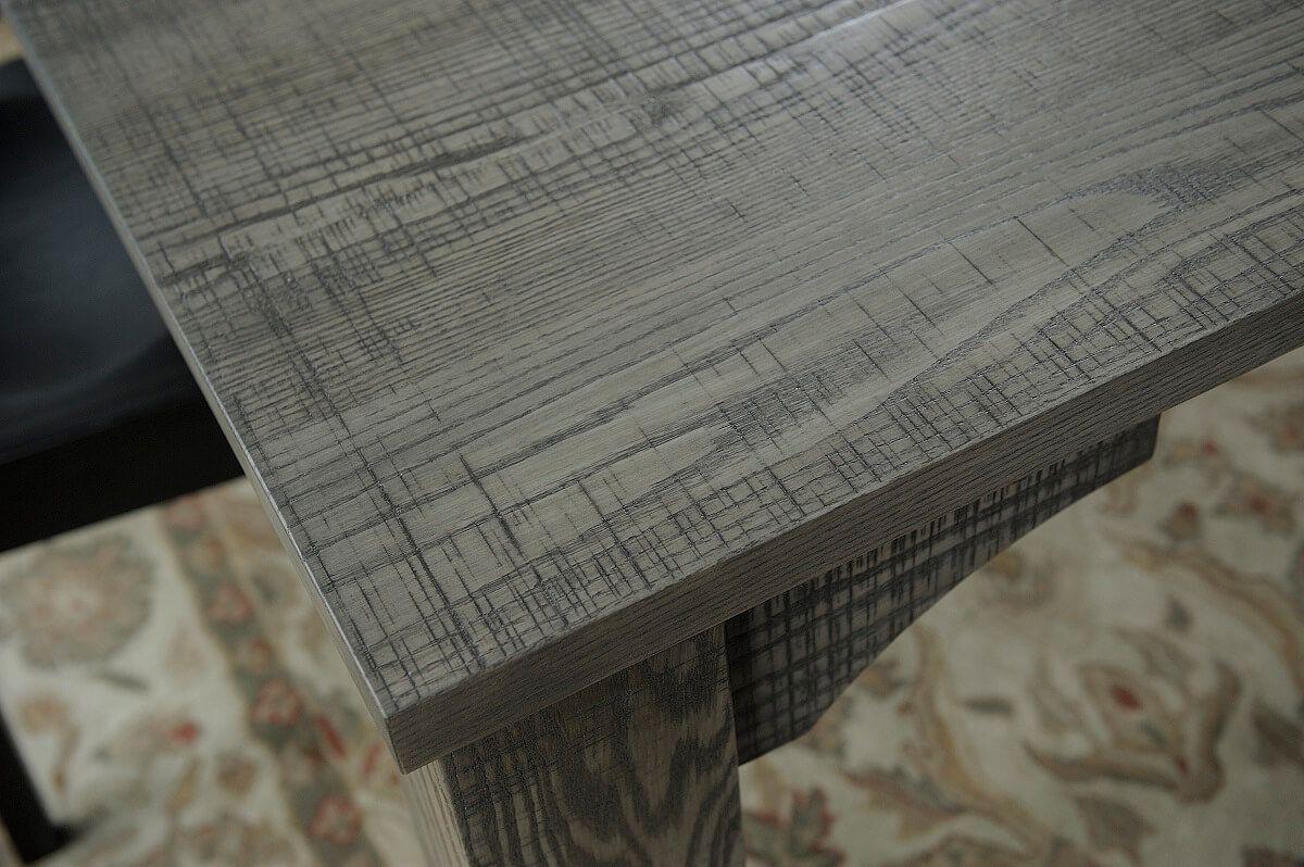 Mill Sawn Rustic Top