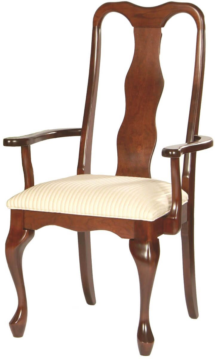 Beverley Queen Anne Arm Chair