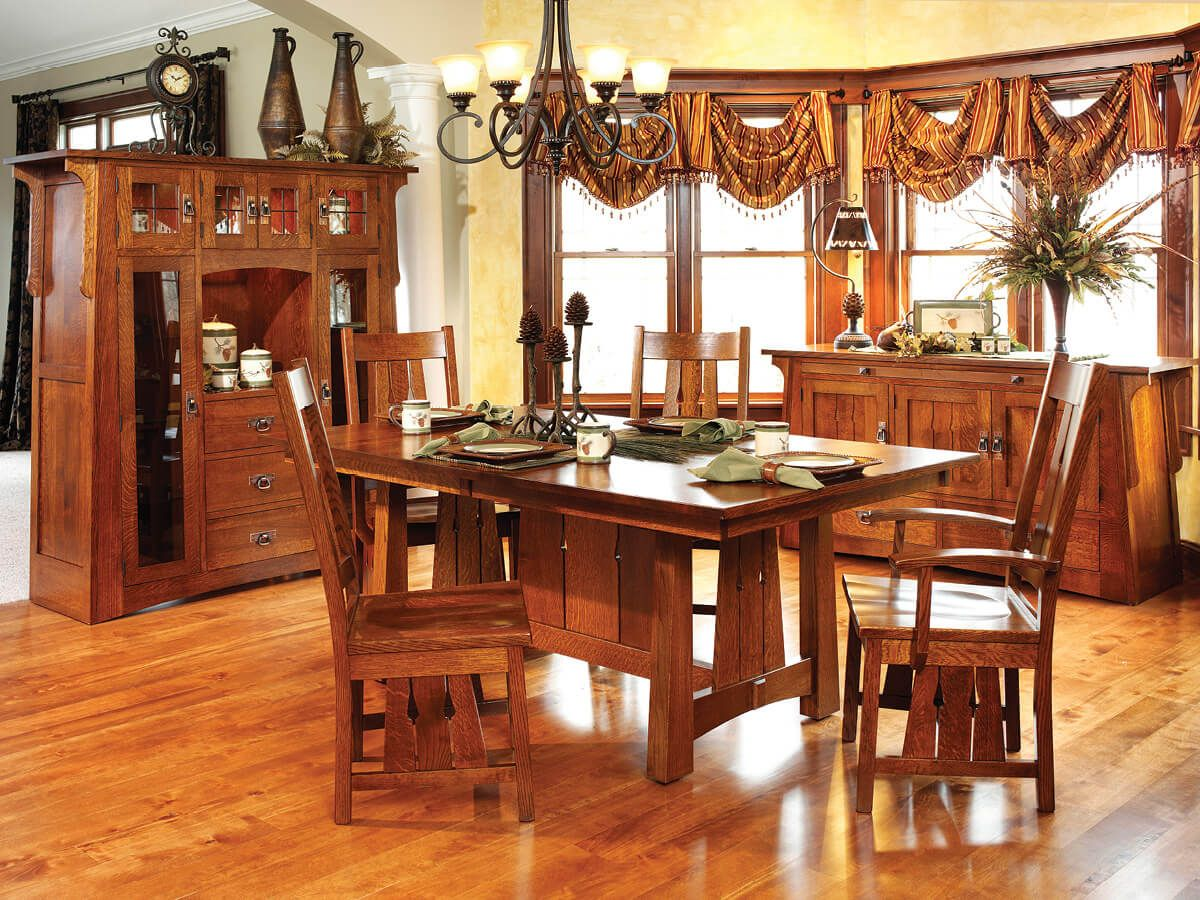Callimont Arts and Crafts Dining Set