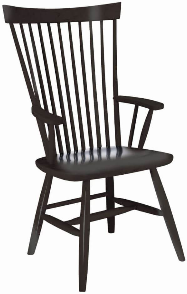 Cloran Manor Spindle Arm Chair