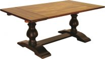 Creve Coeur Double Pedestal Table