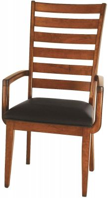 Dell Rapids Ladderback Arm Chair
