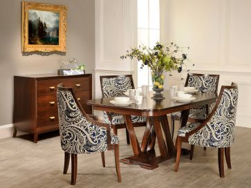 Double Pedestal Tables