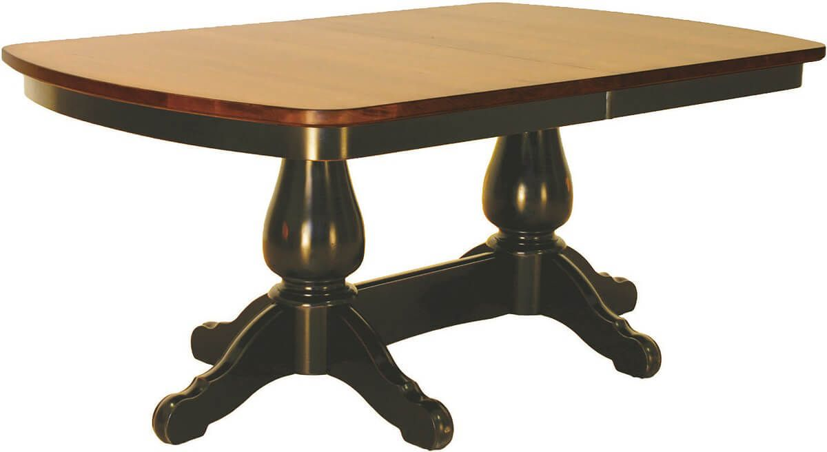 Halsey Double Pedestal Table