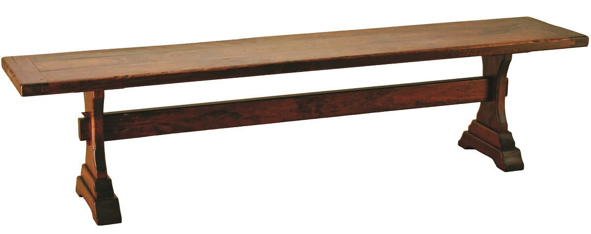 Cherry Trestle Bench