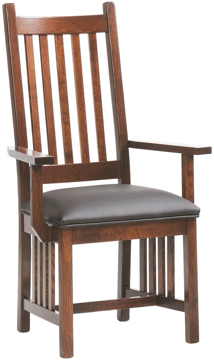 Hurley Mission Arm Chair