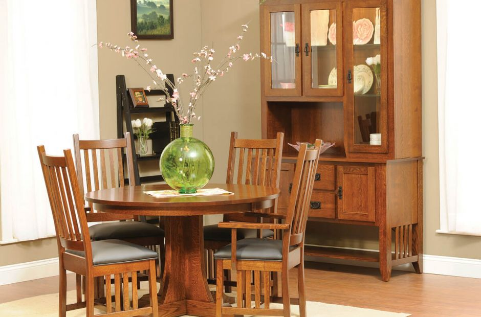 Hurley Mission Dining Set image 1