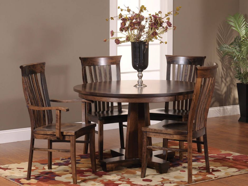 Big Valley Handmade Dining Chair Countryside Amish Furniture