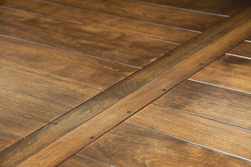 Plank Top Table Detail