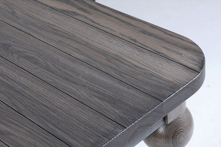 V-Groove Planked Oak Table Top