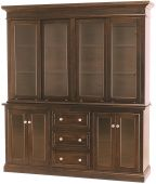 Odenville 4-Door Hutch