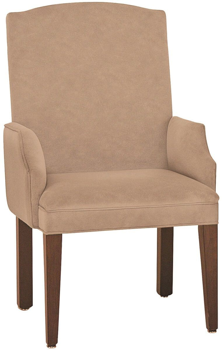 Odenville Upholstered Arm Dining Chair