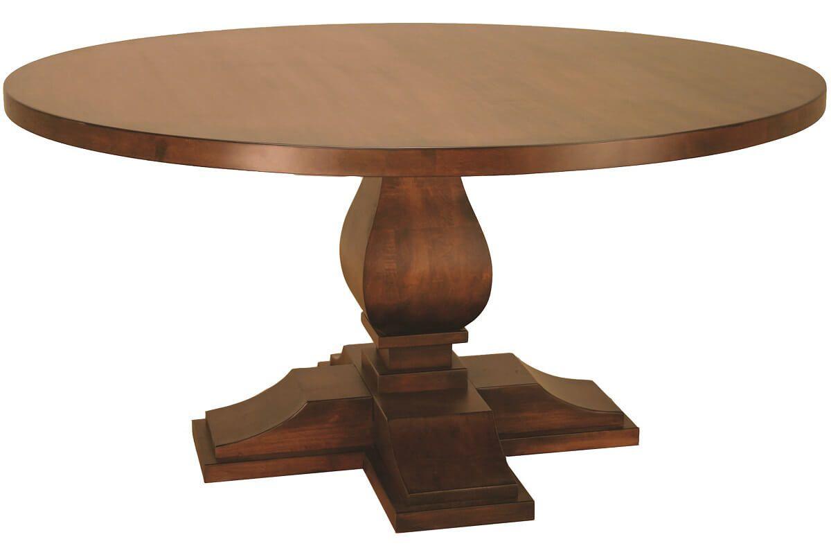 Odenville Single Pedestal Table