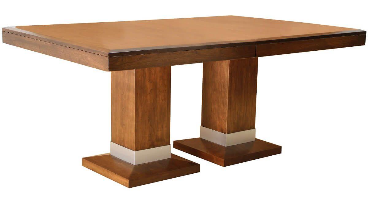 O'Neal Double Pedestal Table