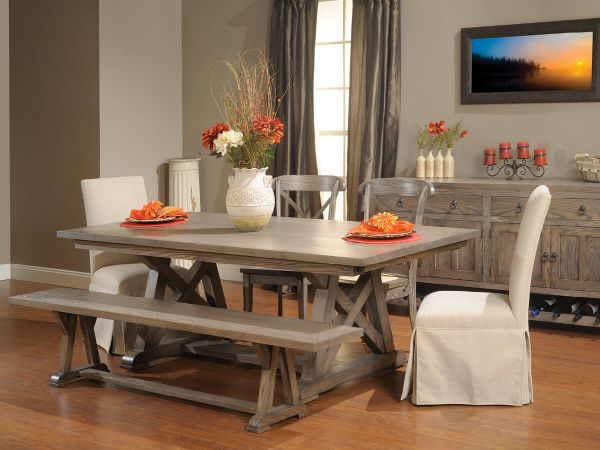 tupelo dining room set countryside amish furniture