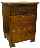 Fawn Grove 3-Drawer Bedside Table