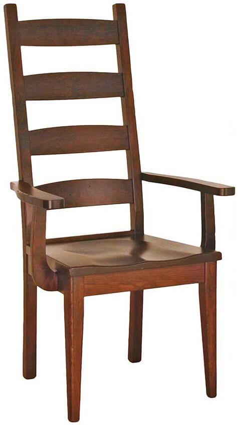 Lamesa Ladderback Arm Chair