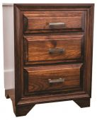 Birchwood Bedside Table