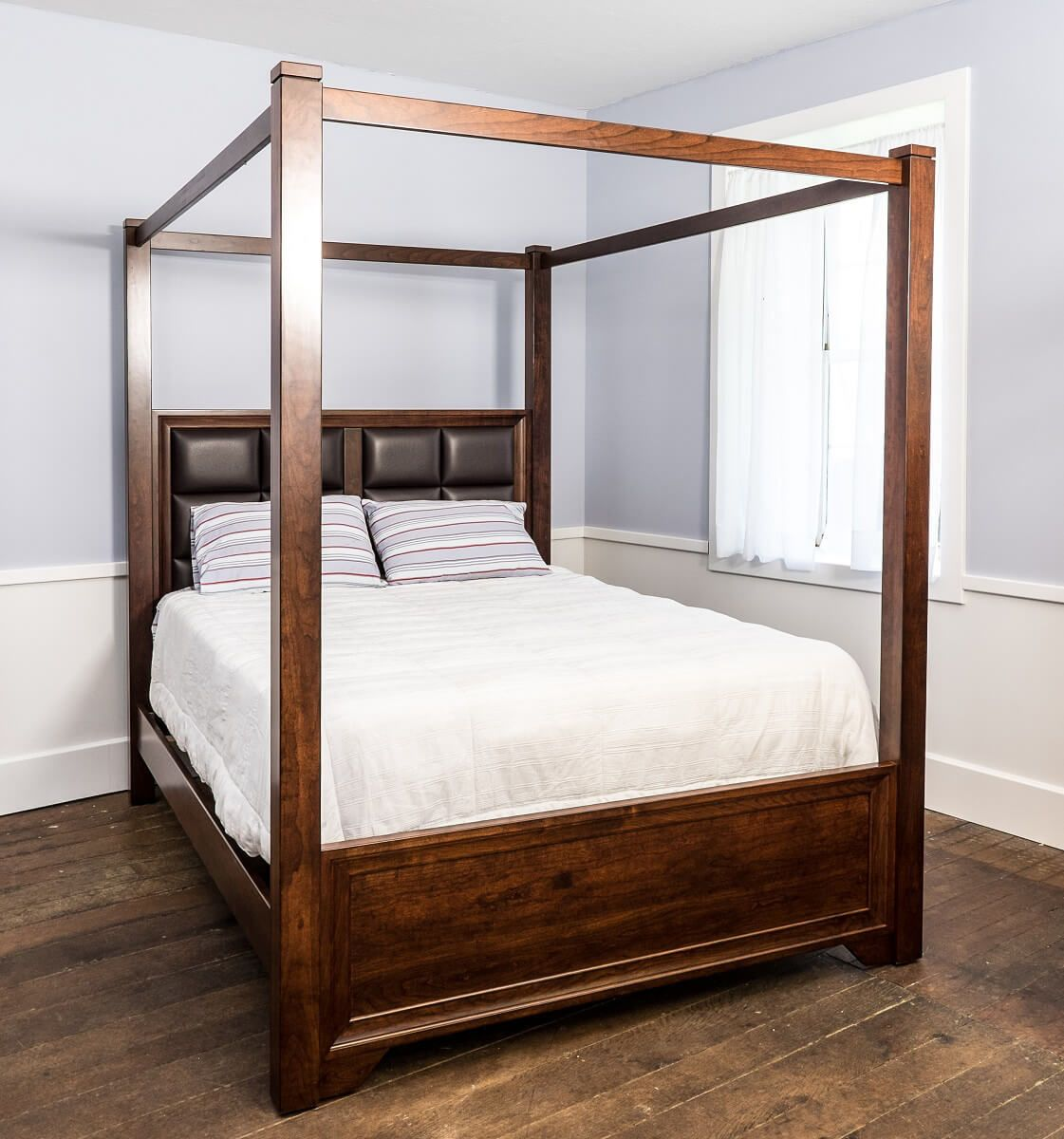 Birchwood Canopy Bed