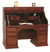 Connelly Rolltop Desk with Topper