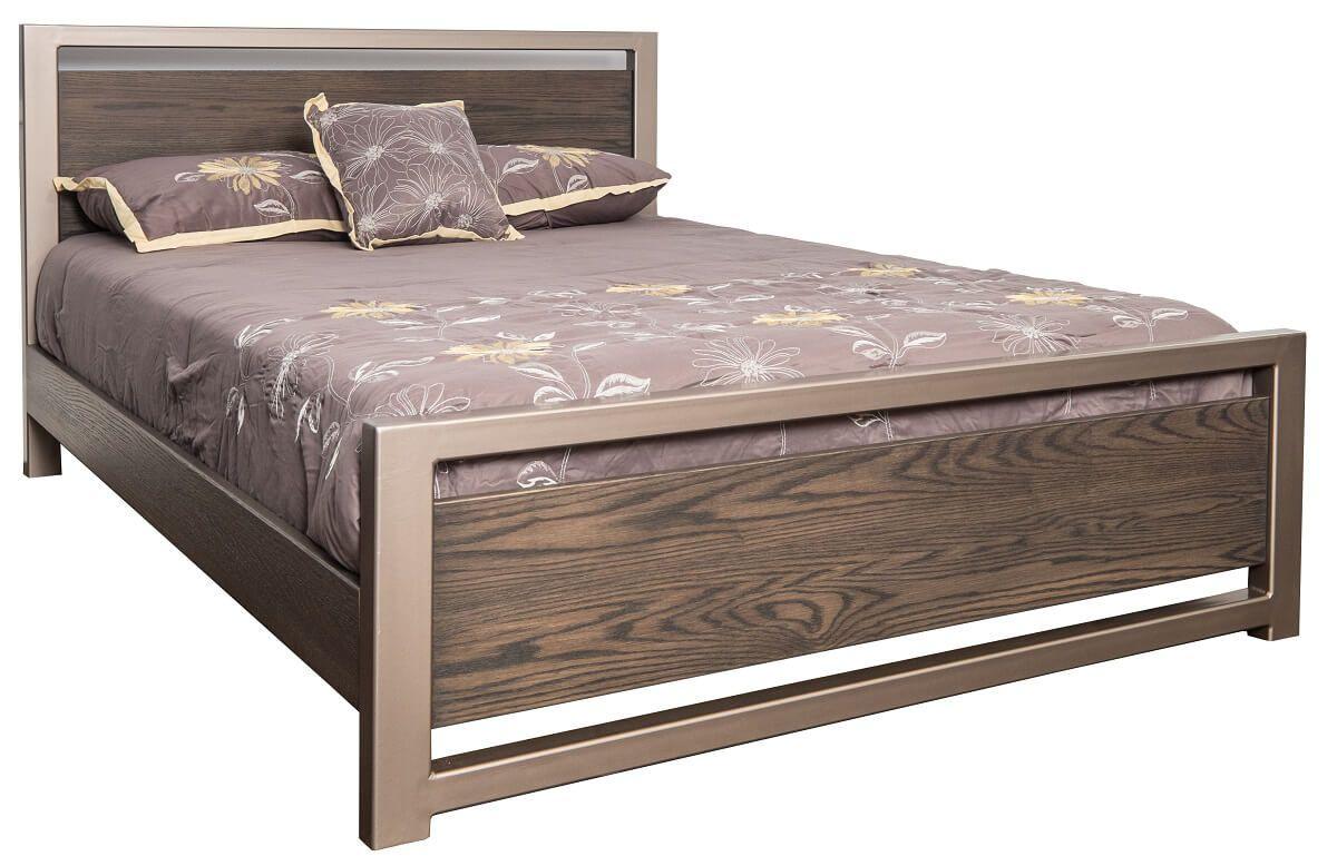 Modern Panel Bed