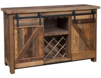 Benton Barn Door Wine Server