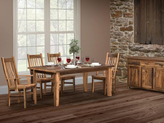 Bernice Reclaimed Dining Set