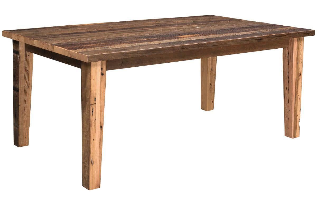 Bernice Reclaimed Leg Table