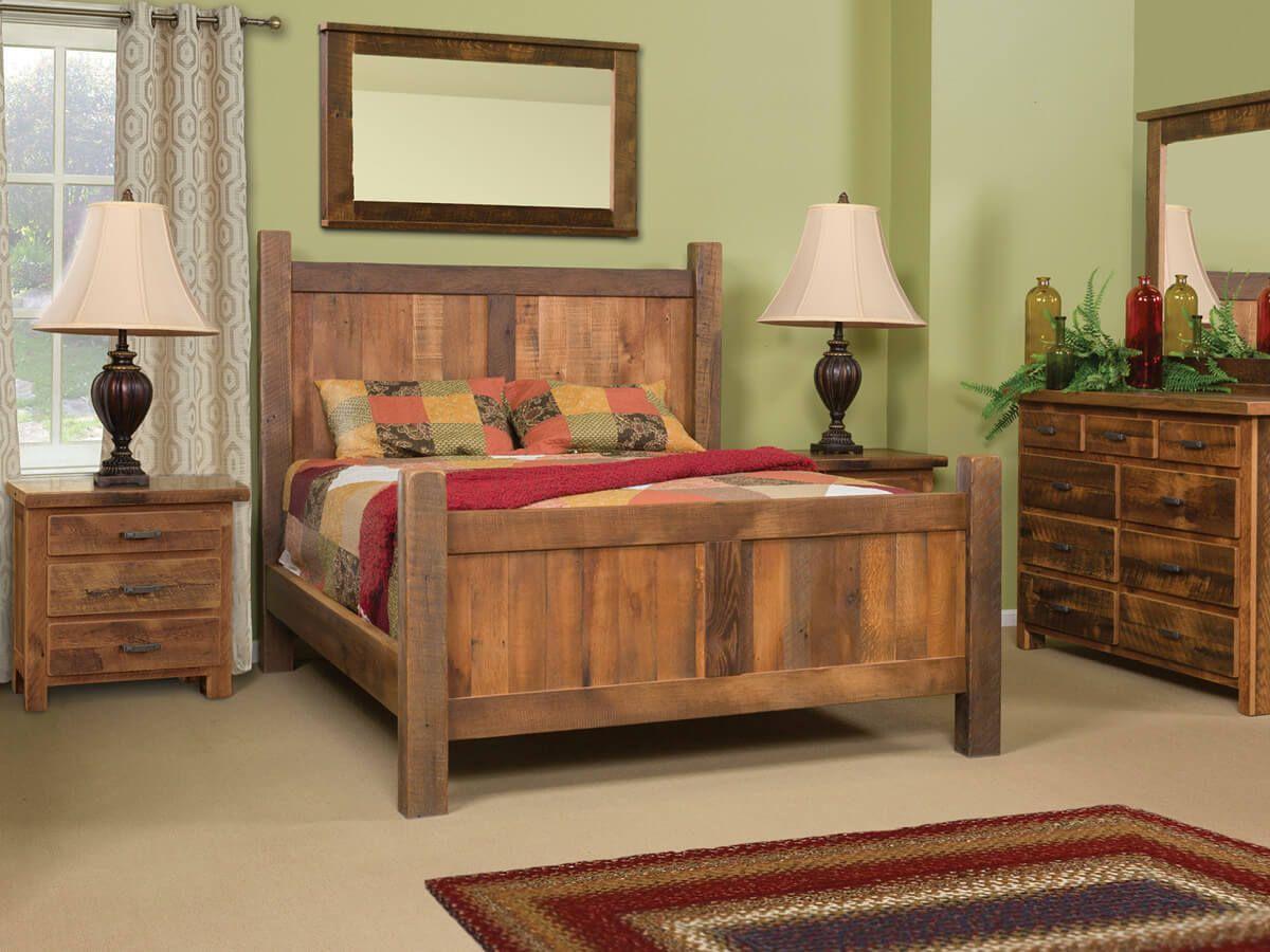 Bonney Lake Reclaimed Bedroom Set