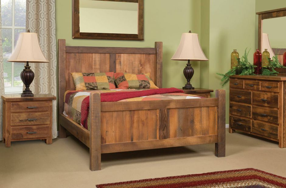 Bonney Lake Reclaimed Bedroom Set image 1