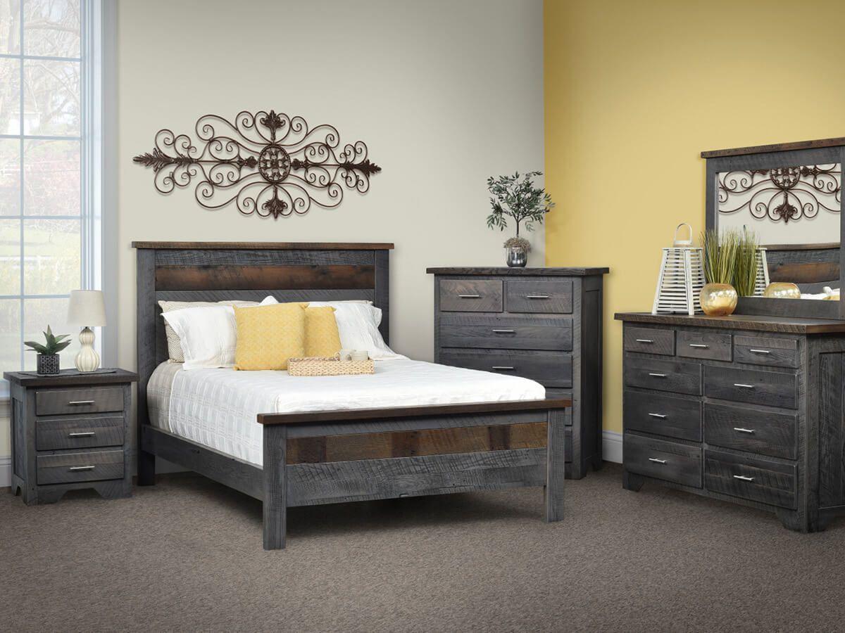 Bucksport Reclaimed Bedroom Set