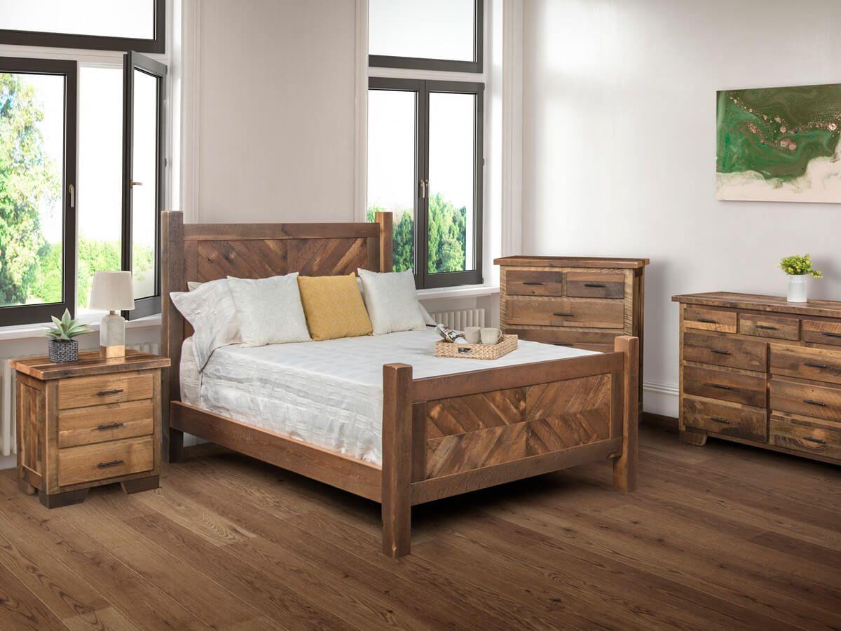 Centralia Reclaimed Bedroom Set