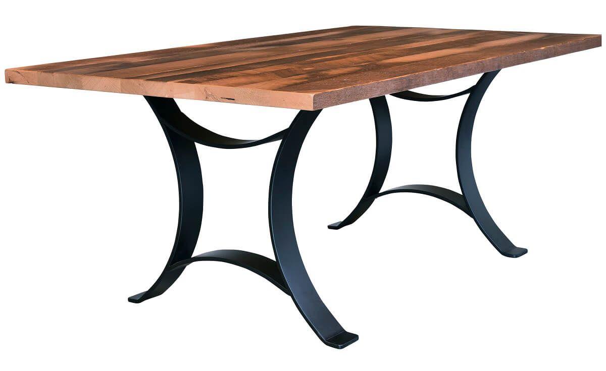 Crenshaw Double Pedestal Table
