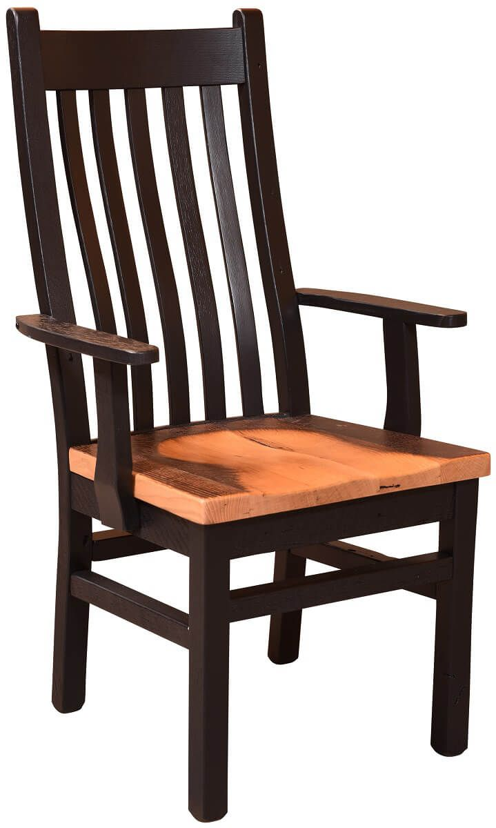 Crenshaw Reclaimed Dining Arm Chair