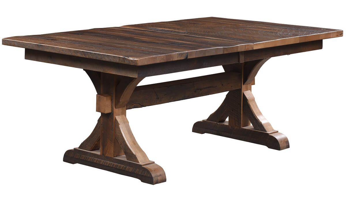 Croydon Reclaimed Trestle Table