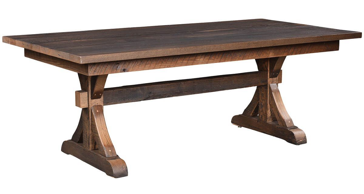 Solid Top Barnwood Table