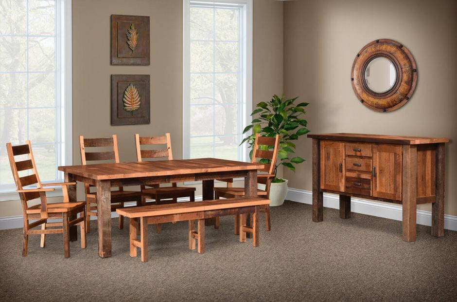 Flagstaff Reclaimed Dining Set image 1