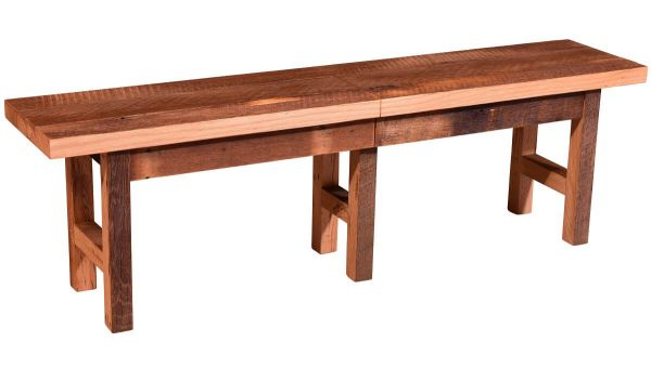 Flagstaff Extendable Reclaimed Bench