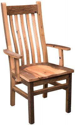 Flagstaff Reclaimed Mission Arm Chair