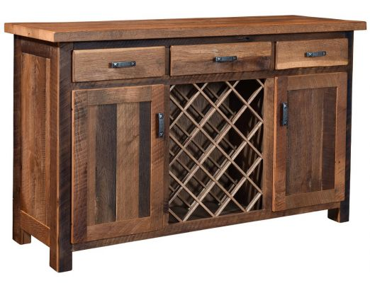 Flagstaff Reclaimed Wine Server