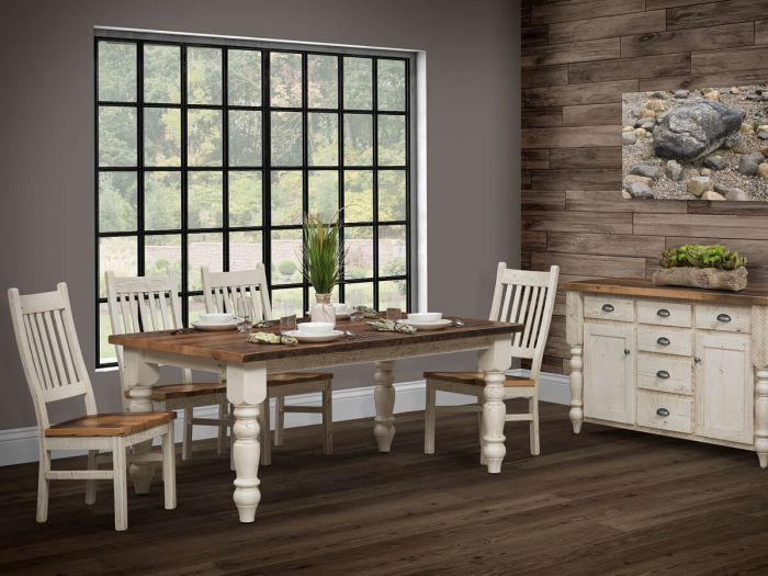 Amish-made Rustic Reclaimed Wood Furniture – Countryside