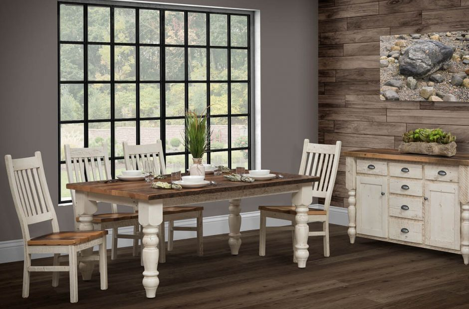 Friars Point Farmhouse Dining Set image 1