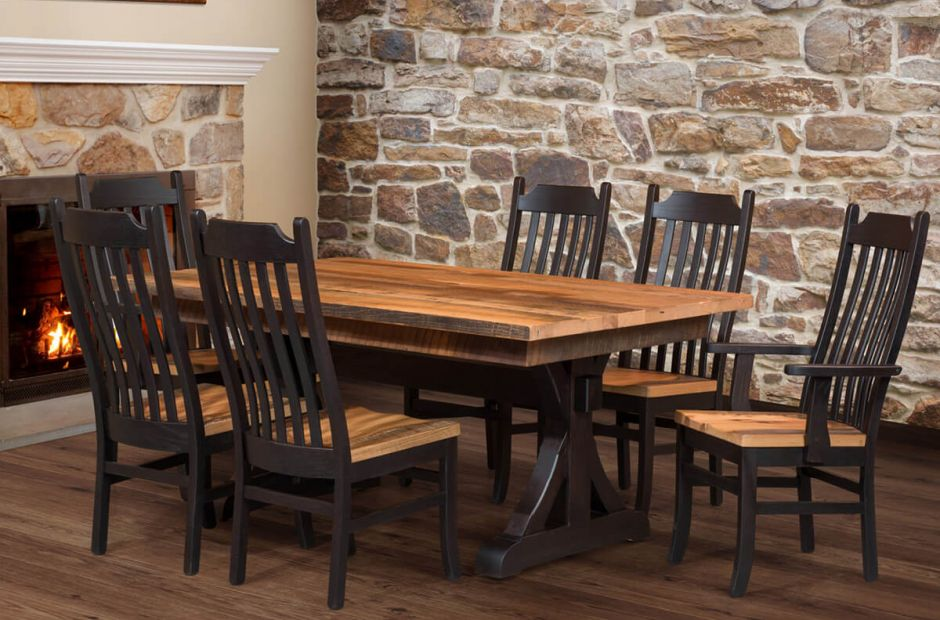 Gretna Reclaimed Dining Set image 1