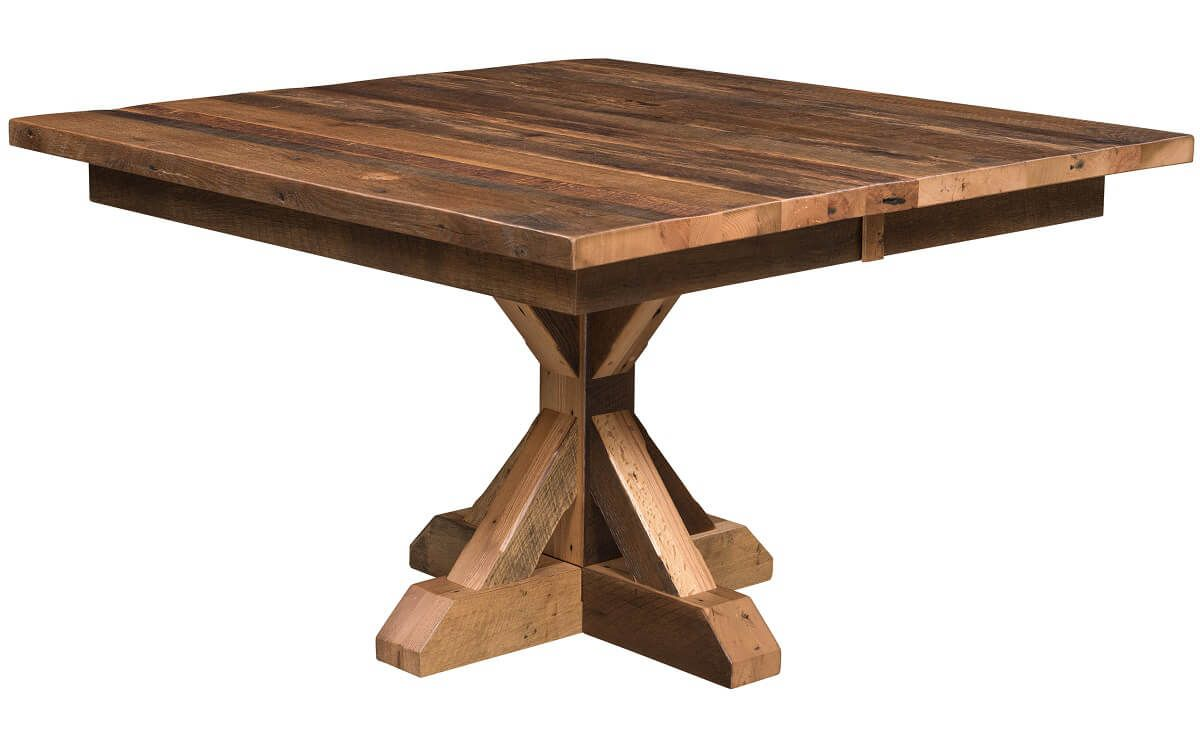 Hooper Bay Reclaimed Square Table