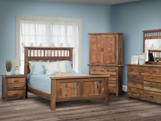 Limington Reclaimed Bedroom Set